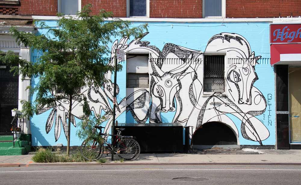 Spirit Wall An Urban Art Mural By Jordan Betten And
